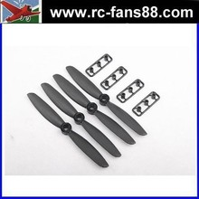"toy plastic propeller GEMFAN 5040 / 5 x 4"" Fiberglass Nylon CR/ Counter Rotating Propellers - Black (4pcs) mini propeller"