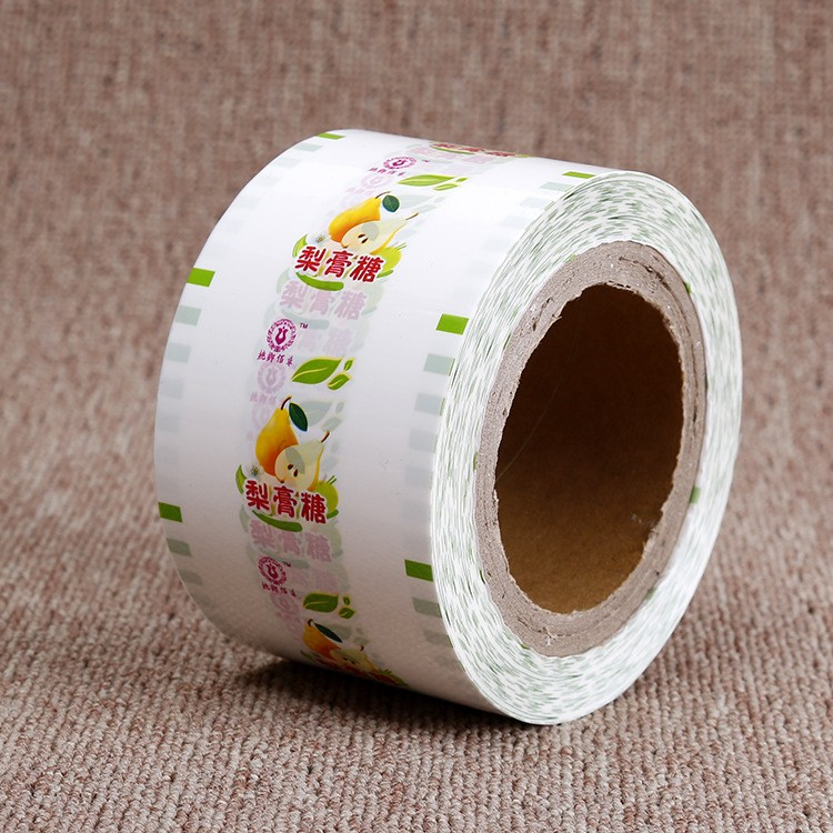 Eco-friendly Moisture Proof Soft transparent Laminated packaging film roll, food packaging plastic roll film