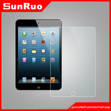 Tempered glass screen protector for PAD phone, screen protector for 8 inch IPAD MINI tablet
