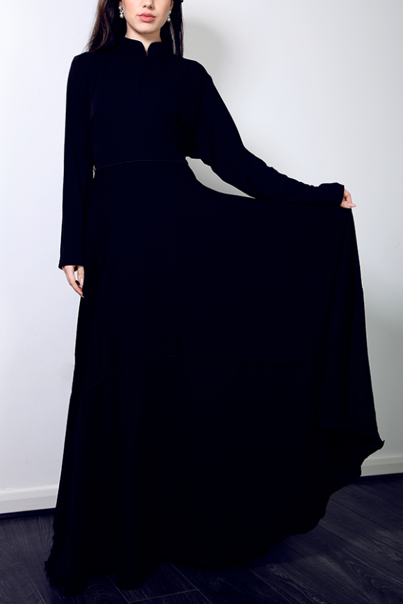 2017 Modern Design Wholesale Cheap Price A-Line Muslim Abaya Dubai Maxi Dress