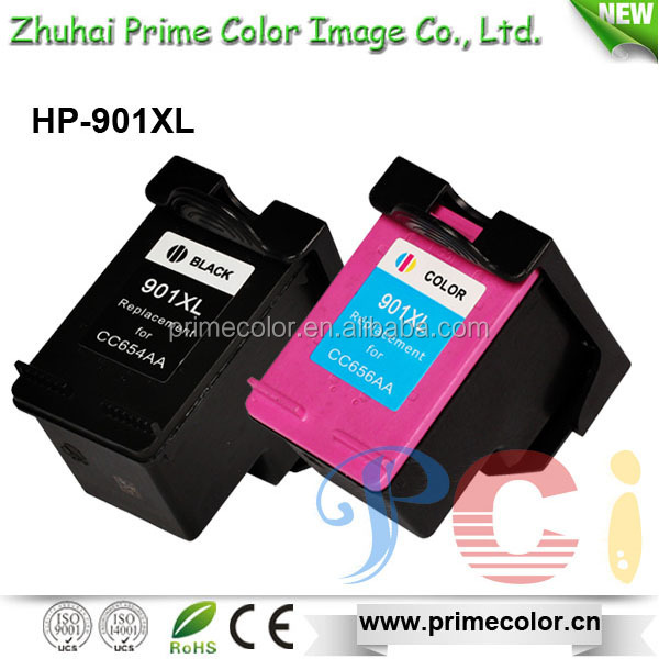 CC654AA CC656AA Remanufactured Ink Cartridge for HP 901XL