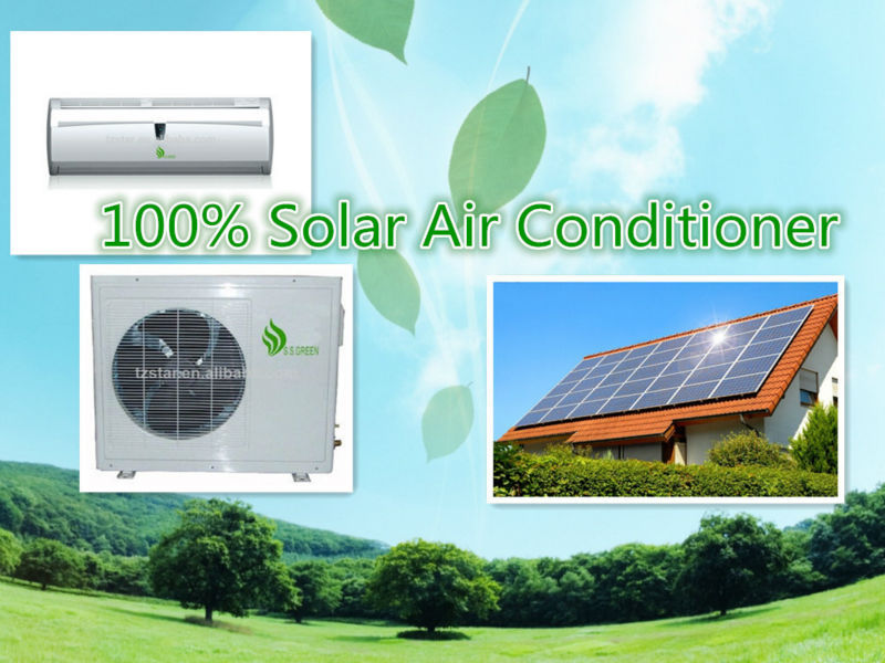 solar powered air conditioner price 24000 BTU | 48V DC air conditioner | 100% solar ari conditioner