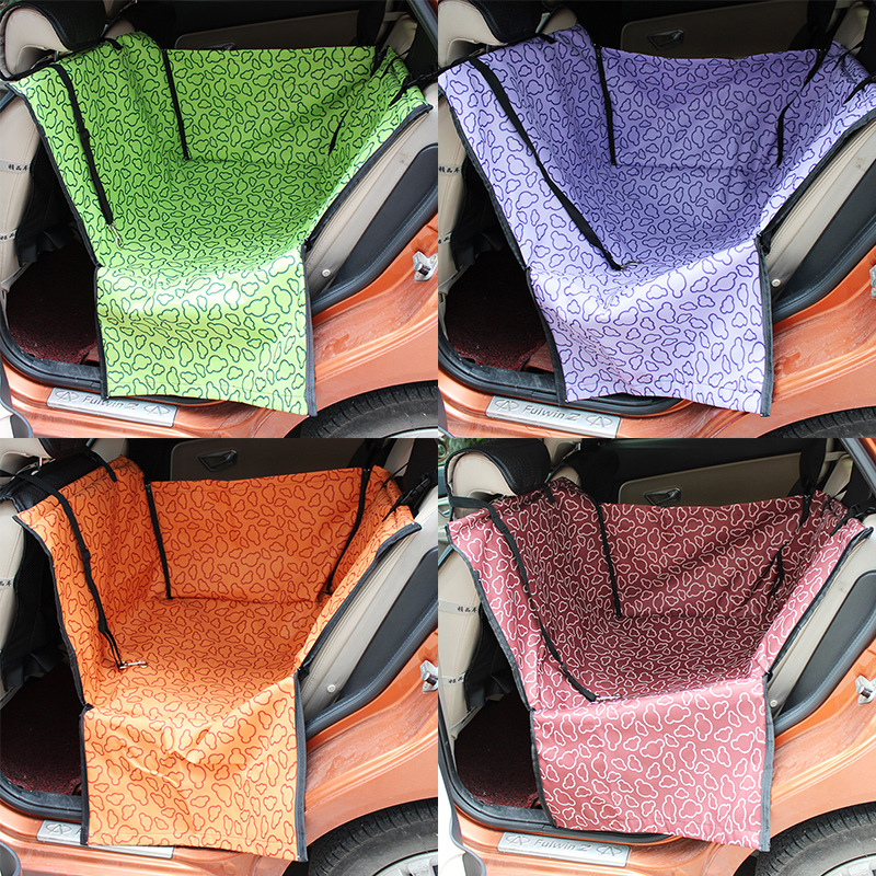 Oxford Waterproof Pet Car Seat Covers Single Seat Mat Wholesale Dog Products Dog Accessories Dog Items