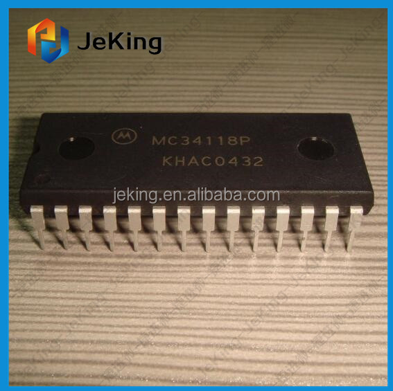 Specifications and Applications Information DIP-28 MC34118P