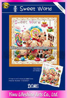 korea cross stitch by hand embroidery kits