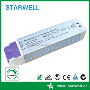 12W to 50W constant current dimmable led driver