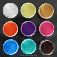 Color changing borosilicate Pearl Pigments for cosmetics