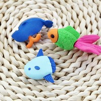 Factory Wholesale School Kids 3D Cute Animal Shaped Erasers Staedtler