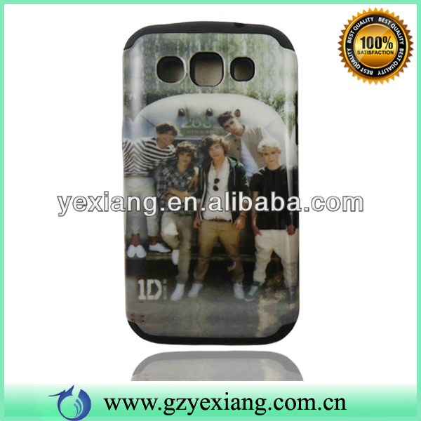 Popular Band One Direction Cover For Samsung I8552 Cell Phone Case