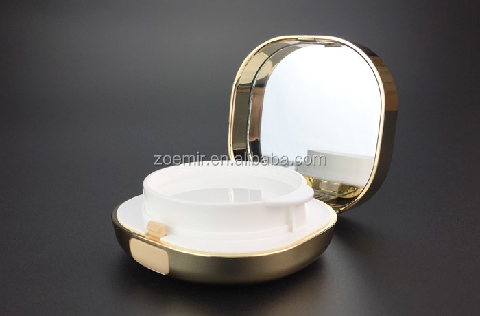All plastic make up air cushion foundation powder case