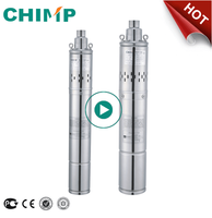 QGD Series 3inch/4inch Submersible Screw Water Pump for Clean Water