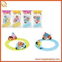 Brand new WIND UP Track motorcycle(8 pcs orbit) with high quality WD24518037B