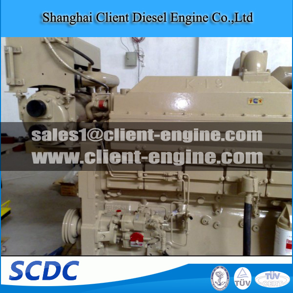 Original Cummins KT19 engine for marine , genset ,construction machine