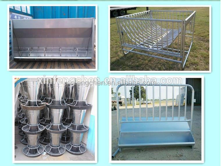 hot dip galvanized cow free stall cattle freestall cow cubicles