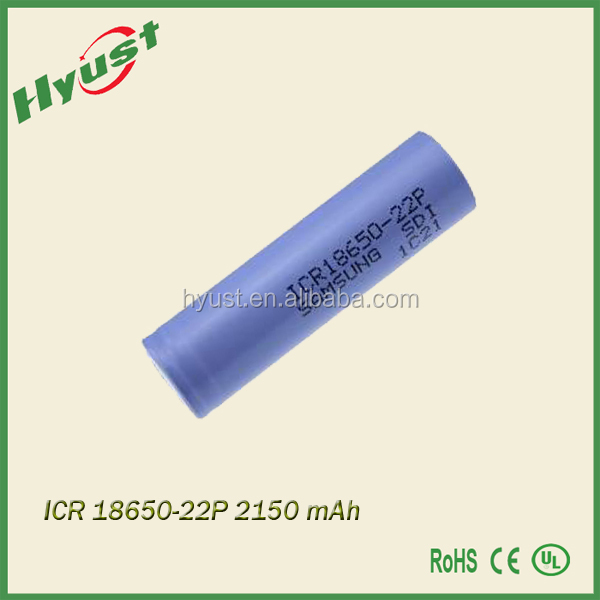 2200mah electronic cigarette vaporizer 18650 lithium battery car battery