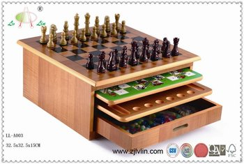 Ten in One Wooden Chess Set,outdoor chess set,antique chess sets