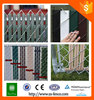 Trade Assurance Plastic Pvc-coated Diamond Chain Link Fence for Playgrounds/Residents