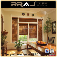 COUNTRY STYLE Balcony Sunshade Outdoor Wooden Blinds
