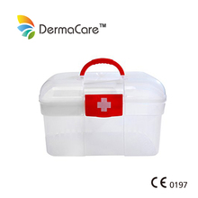 Small Plastic Medical First Aid Box For Home/Car