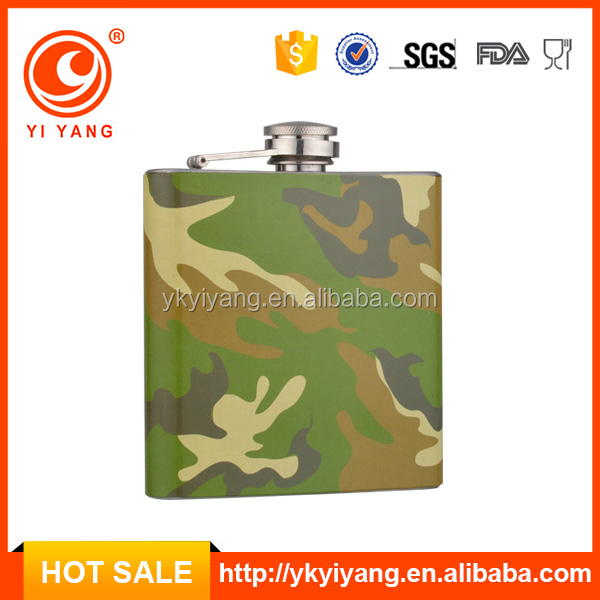 johnny walker whisky army hip flask (YY-WT26)