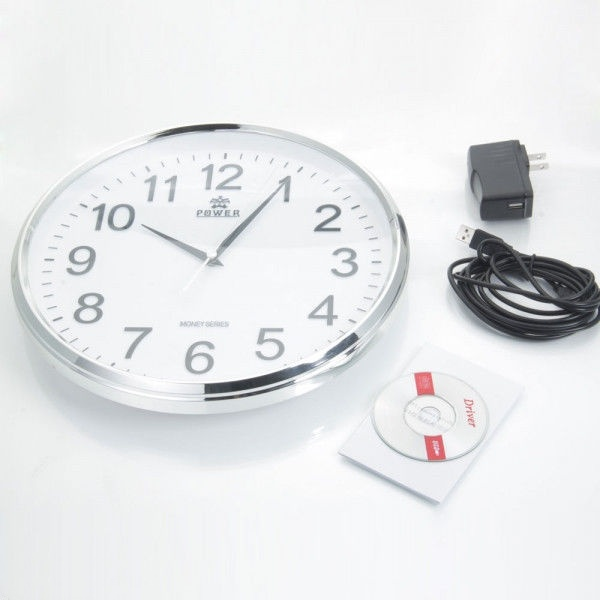 Hot selling HD full 720p Wifi Wall Clock Camera with Motion Detection Function hidden minicam