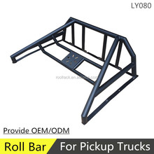 LY080 high quality 4x4 black steel roll bar for pick up trucks