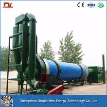 215.5t/d Animal Feed Ingredients Bean Straw Dryer Production Line for Agro Based Industries