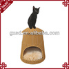 Eco-friendly handmade durable rattan fashion pet cat bed