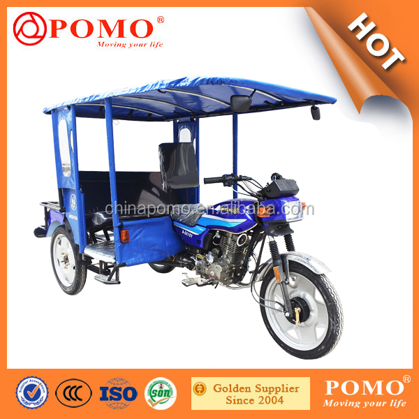 China Made Popular Passenger Transport Bajaj Three Wheel Motorcycle, Tricycle A Moteur, Carburetor Bajaj Platina