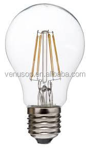 Safety Packing Dimmable 6W Led Filament Lamp 19 Anchors With E27 Base C32