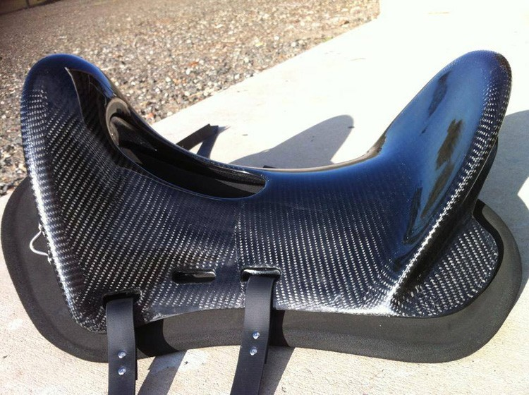 Supper lightweight horse saddle carbon fiber tree