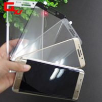 tempered glass screen protector for samsung galaxi s6 edge Curved Edge tempered glass film
