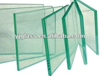 High quality 10mm clear tempered float glass with CCC ISO BV SGS
