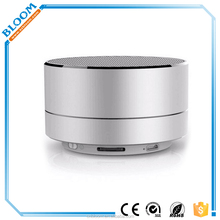 New Portable Aluminium Wireless Bluetooth Speaker,Handsfree Bluetooth Speaker 2016 Car Speaker , Free Sample speaker bluetooth