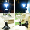 Solar LED Garden Lights solar lawn lamp Makes Garden Pathways & Flower Beds Look Great Easy NO-WIRE Installation All-Weather/Wa