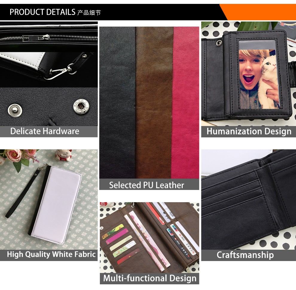 Custom Made Wallet, Wallet Sublimation