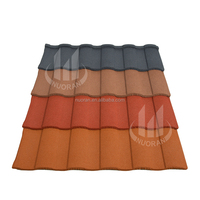 Nuoran Granite color coated steel spanish synthetic resin roofing tiles