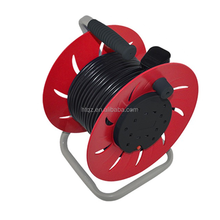 automatic retractable plastic cable reel,10m retractable cable reel