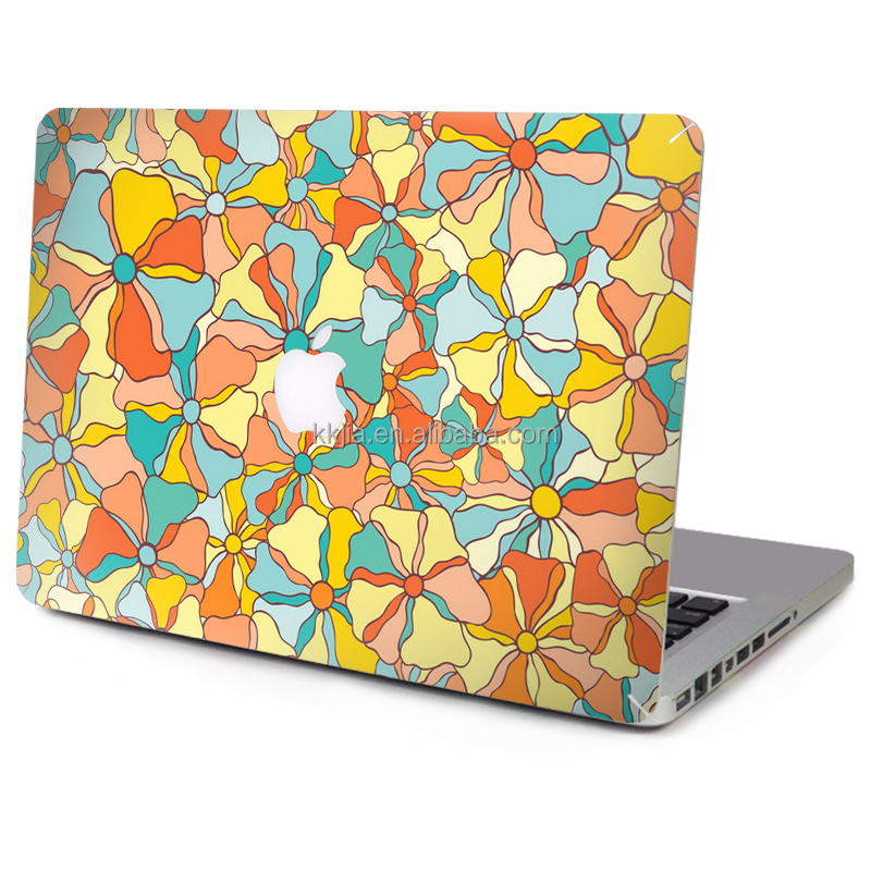 "Wholesale PVC stickers full body laptop skin for Macbook 11"" 12"" 13"" 14"" 15"""