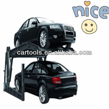 Two post tilt platform car stacker parking lift RP7002(A)