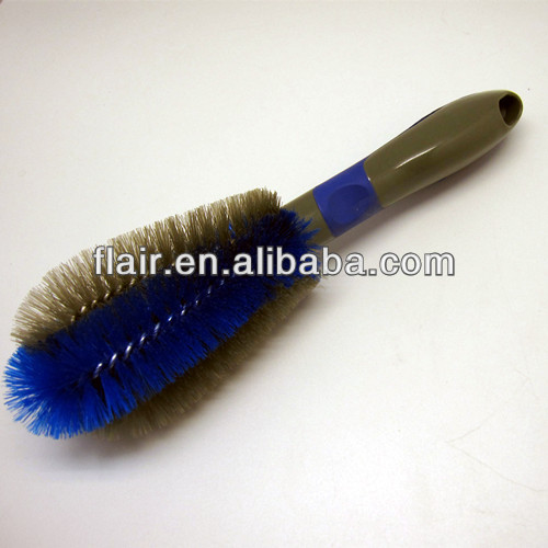 Super soft PP fibre car cleaning brush car wash brush with TPR handle China factory Flar Home
