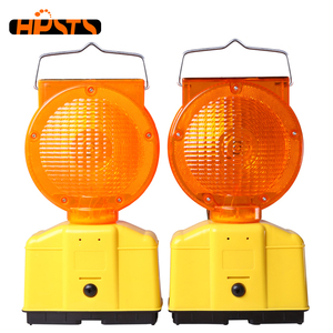Yellow PS material strobe emergency led traffic warning light