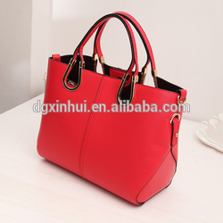 Man bag shoulder hand short-distance travel bag red luggage female bag