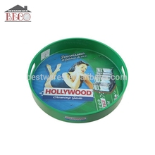 Popular hollywood melamine plastic bar serving beer tray