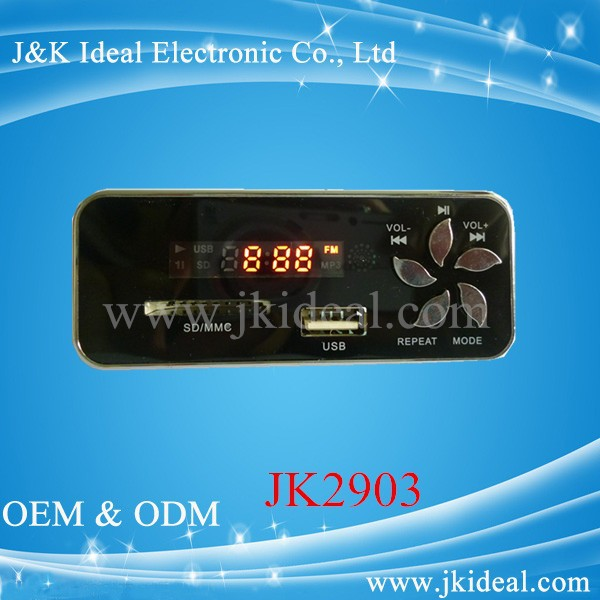 JK2903 usb sd fm radio audio chip mp3 module