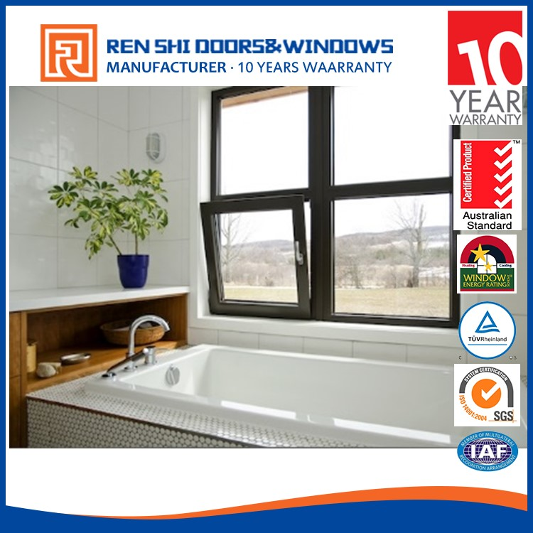 Australia standard as2047 aluminium tilt turn window with 10 years warranty germany tilt and turn hinge