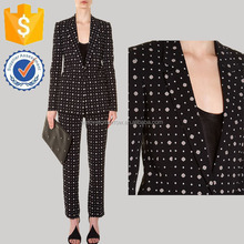 Star Plus Dot Dice Peint Manufacture Latest Fashion Women Apparel New Spring Autumn OL Coordinates (TF0008S)