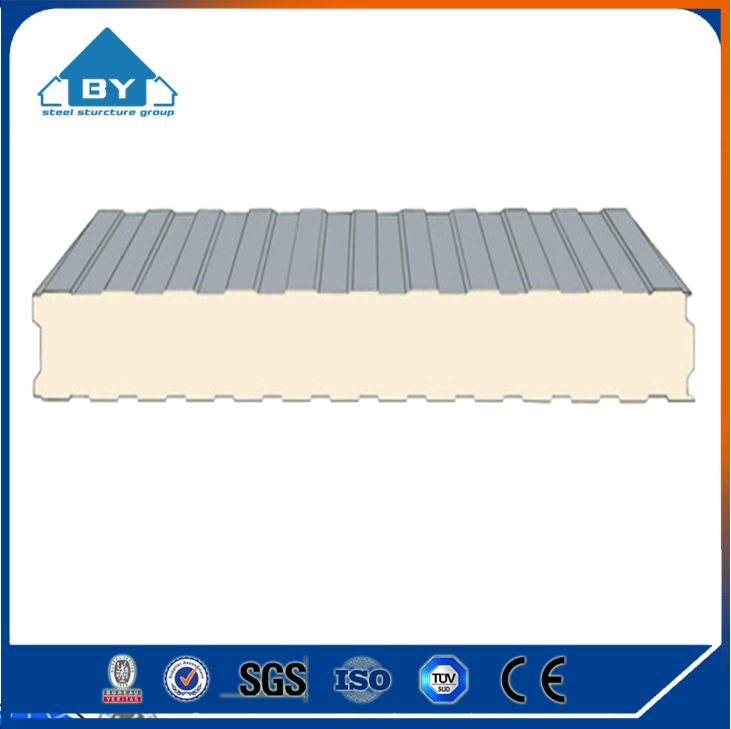 High Quality PU Sandwich Panel for Roof