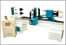 double spindles and double cutters cnc wood lathe machine