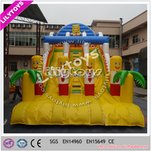 EN14960 certificated indoor and outdoor use commercial inflatable super slide
